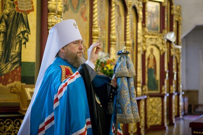 Поздравления митрополиту астанайский